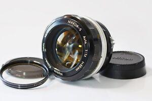 [ausgezeichnete +++++] Nikon Nikkor-S Auto 55mm f1.2 MF Prime Non-Ai aus Japan n282