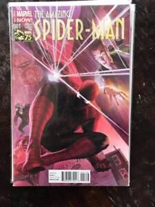 Amazing-Spider-Man-1-Variant-Comic-Book-Marvel-NM-Vol-3-Ross