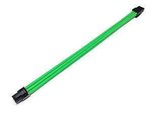 6-pin Pcie Gpu 30cm Vert Extension à Manches Câble +2 Free Peignes Shakmods En Quantité LimitéE