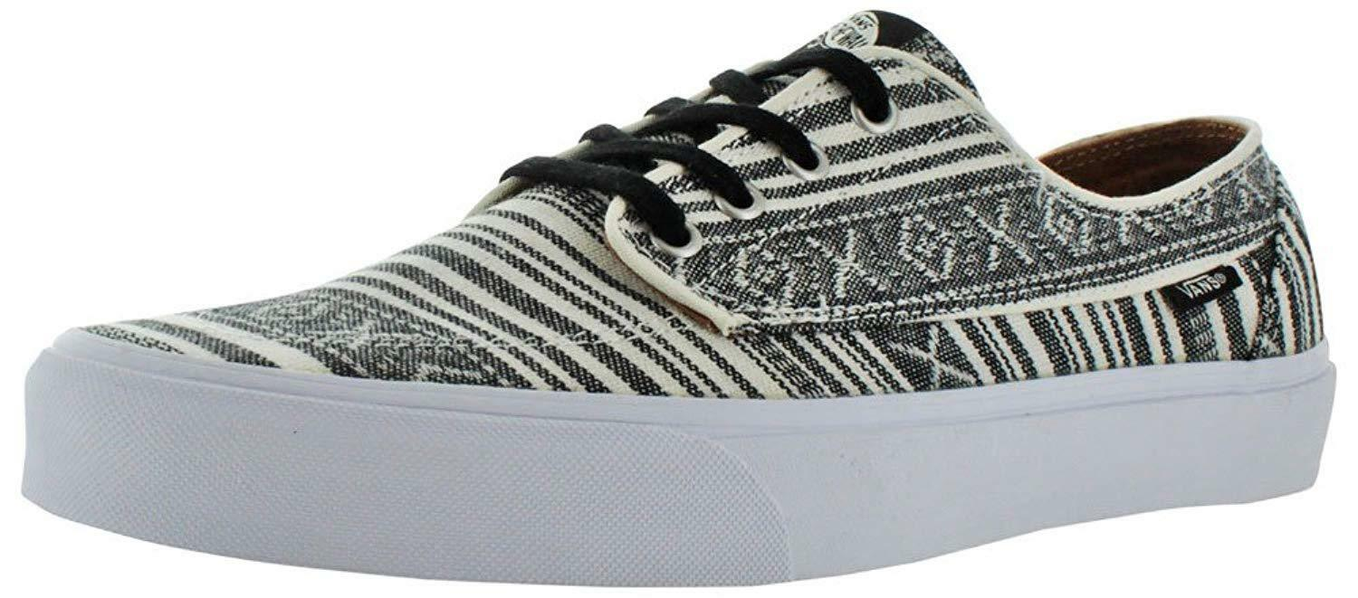 Vans Unisex Brigata Skate Chaussures , Nautically Inspi rouge Boat Chaussures Classic, hommes 11