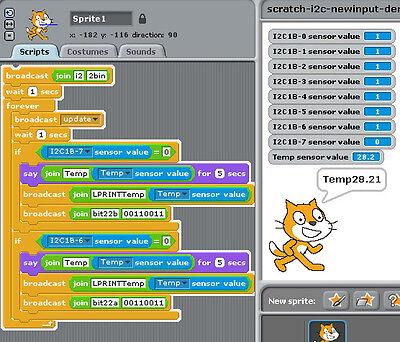 Pi_Scratch software Driver for Scratch for Raspberry Pi GPIO control  6490164338226   eBay