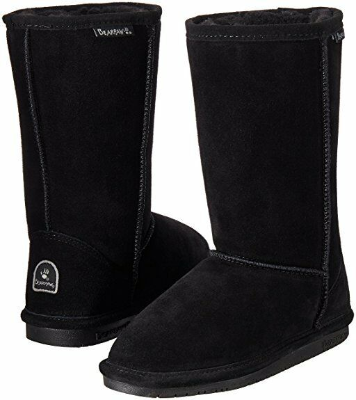 92319ee0259d4 BEARPAW Emma Tall Youth Boot Black II 5 M US Big Kid for sale online ...