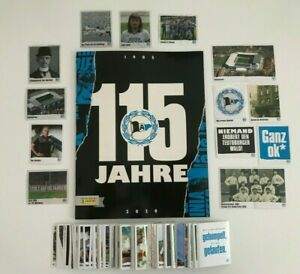 Panini 115 Jahre Arminia Bielefeld - Komplett Set (alle 278 Sticker) + Album