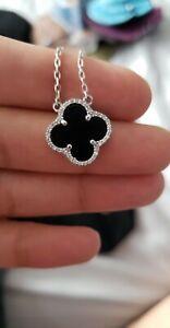 Van-Cleef-925-sterling-silver-necklace