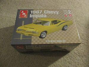 AMT ERTL 1967 Chevy Impala 1:25 Scale Model Kit MISB Sealed 2001