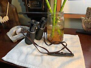 Vintage-4-x-40-Binoculars-Japan-NIKON-Strap-RARE-Great-Shape