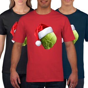 8dbf1db7 Sprout Hat Funny Christmas T Shirt Men Womens Kids Novelty T-Shirt ...