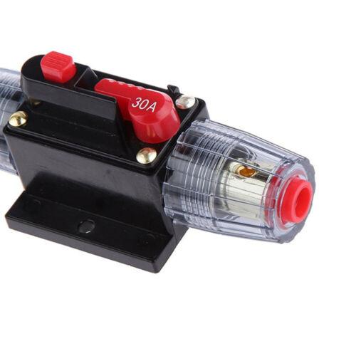 Leistungsschalter 30-80A Automatische Sicherung Automat Marine KFZ 12V 24V 32V