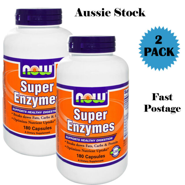 Now Foods, Super Enzymes, 360 Capsules