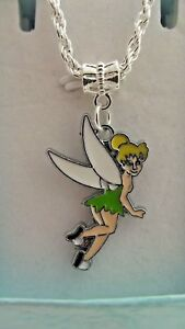 FAIRY PRINCESS TINKERBELL NECKLACE AGE 3,4,5,6,7,8,YE<wbr/>AR GIFT BOX PARTY BIRTHDAY