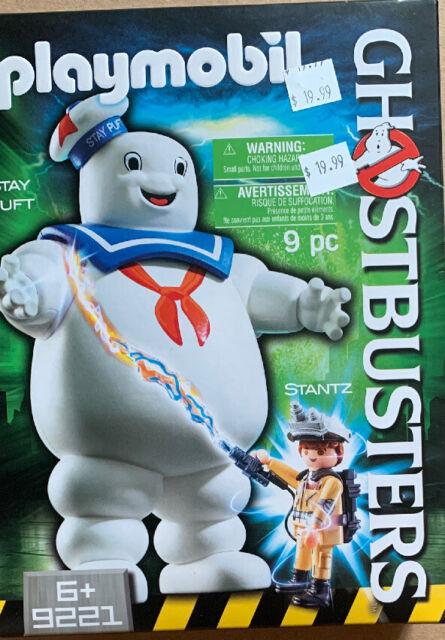 Playmobil Ghostbusters 9221 Stay Puft Marshmallow Man W/ Ray Stantz MIB New