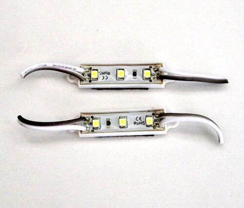 2 BBT Marine Grade 12 volt Waterproof Cool White LED Accent Lights