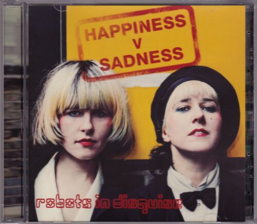 1 of 1 - Robots In Disguise - Happiness V Sadness - CD (RID GET 4 President 2011)