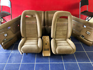 1984 1985 1986 1987 1988 FORD BRONCO II FRONT & REAR SEATS ...