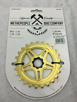 Brand New Wethepeople Turmoil Red 25T Spline Drive BMX Sprocket
