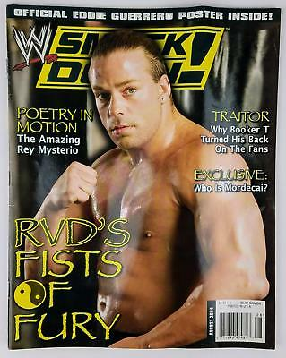WWE WRESTLING,RIVISTE SMACKDOWN MAGAZINE IN ITALIANO