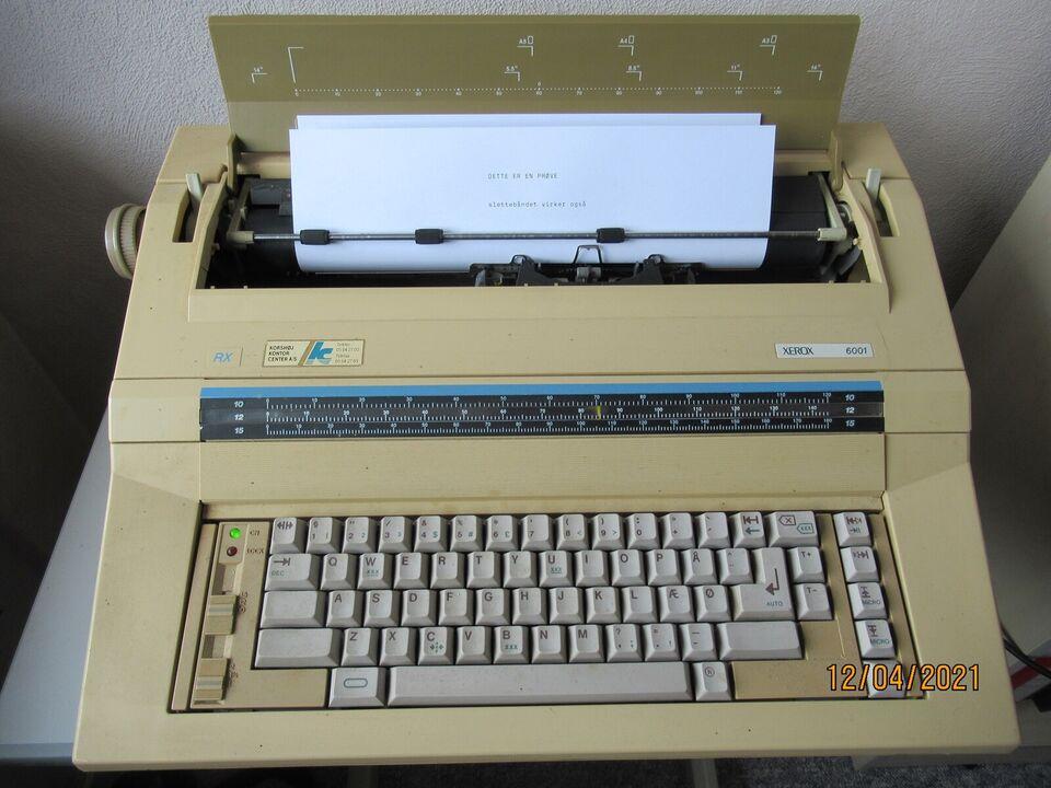 Xerox 6001