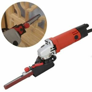Angle-Grinder-Adapter-Belt-Sander-Parts-Kit-Abrasive-Belt-Cutting-Grinding