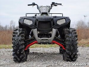 Super Atv Polaris Sportsman Xp Scrambler Alta Clearance A Arms Vermelho Ebay