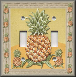 Light Switch Plate Cover - Pineapple - Kitchen Fruit Home
