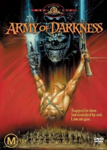 1 of 1 - Army Of Darkness (DVD, 2004) RARE 1992 ZOMBIE HORROR COMEDY -REGION 4- $2 POST!!