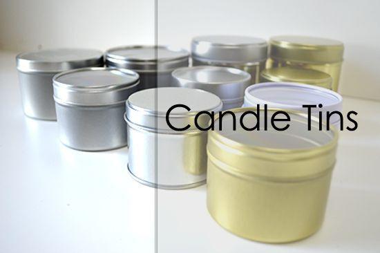 Aluminium Tins - suitable for candles, lip balms - multiple Größes