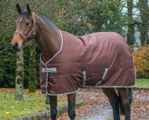 Bucas Freedom Heavyweight Stable Stable Heavyweight Rug 300g, Braun, 5'9