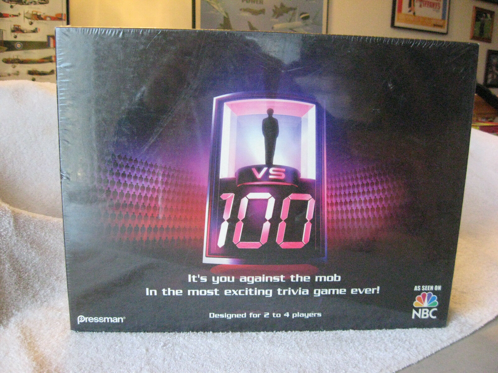 1 VS 100 Board Game By Pressman 2007New & Factory Sealed