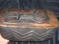 """orig $399- RITUAL IFUGAO MAGIC BOX, EARLY 1900S 10"""""""