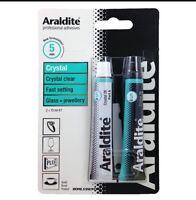 Araldite Crystal Clear - Strong Adhesive Glue - Glass Jewellery - 2 x 15ml Tube