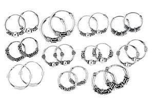 Boucle d'oreille anneau celtique