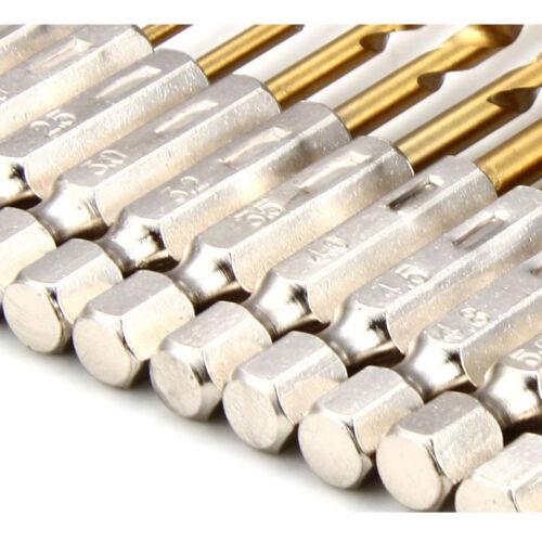 13Pcs HSS Drill Bit 1.5-6.5mm Drill Bit Twist Drill Bit Set Random