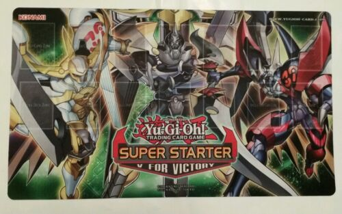 CHEAPEST. Super Starter V For Victory PlayMat- Mint YuGiOh Brand New