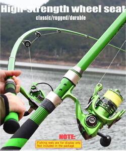 Carbon Fiber Rock Fishing Rod Telescopic Feeder Pole Spinning Portable Ultraligh
