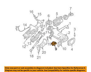 bmw oem 06 10 650i ignition switch 61326937075 ebay rh ebay com 2007 bmw 650i engine diagram