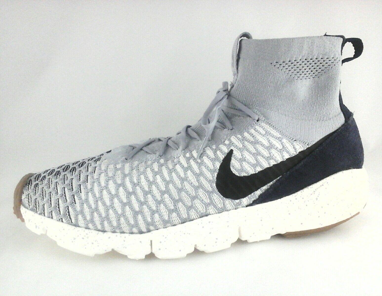 Nike footscape magista magista magista flyknit wolf n  uns neue schuhe 816560-001 12,5 e929e7