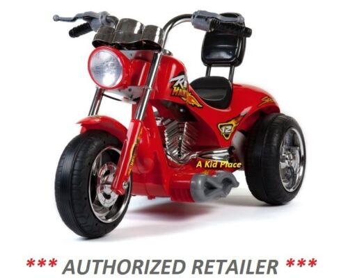 NEW MINI MOTOS RED HAWK MOTORCYCLE 12v BATTERY OPERATED CHILDREN/'S RIDE-ON TOY