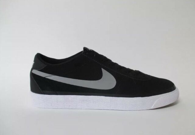 new style f6ccc de4cb New Nike SB Bruin Black Grey White Premium Sz 11 631041 Men Sneaker Gym  Shoes