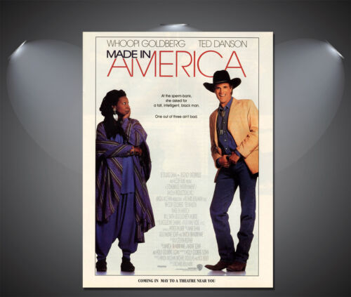 A4 Sizes A3 A1 A2 Made in America Whoopi Goldberg Vintage Movie Poster