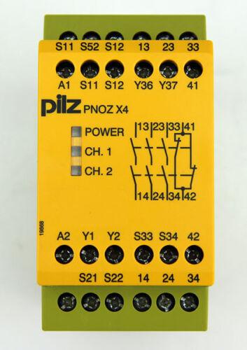 Pilz PNOZ X4 Sicherheitsrelais 774730 Not-Aus Schaltgerät #8539