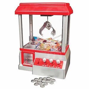 CANDY-GRABBER-MACHINE-TOY-CLAW-GAME-KIDS-FUN-CRANE-SWEET-GRAB-GADGET-ARCADE