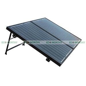 100w 120v 12v folding pv mono solar panel for camping car. Black Bedroom Furniture Sets. Home Design Ideas