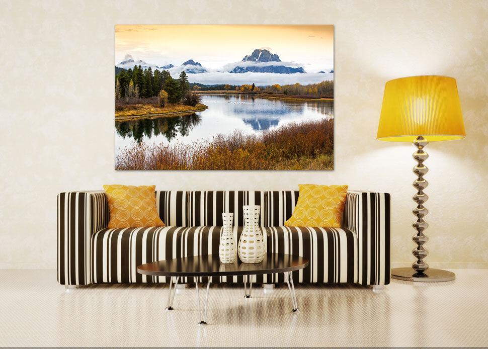 3D Wolken Dschungel Fluß 9342 Fototapeten Wandbild BildTapete AJSTORE DE Lemon