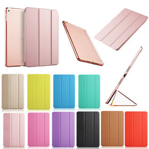 For-iPad-5th-Generation-iPad-9-7-034-2017-Magnetic-Slim-PU-Leather-Smart-Cover-Case