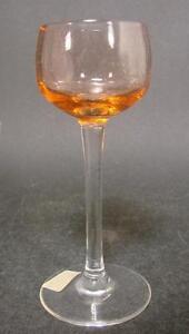 Um 1930 Likörglas Supplement Die Vitalenergie Und NäHren Yin Mundgeblasenes Glas