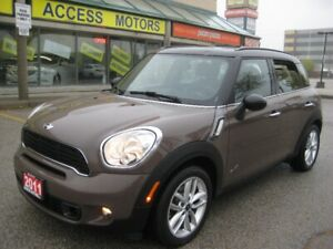 2011 Mini Cooper S Countryman, AWD, Like New, Only 81k, Leather