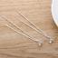 925-Sterling-Silver-Plated-Dangle-Stud-Gem-Stone-Rhinestone-Long-Drop-Earrings thumbnail 2