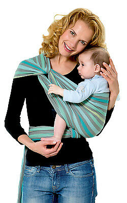 Amazonas Carry Sling Pacific baby carrier. 450cm. 100% eco tested cotton.