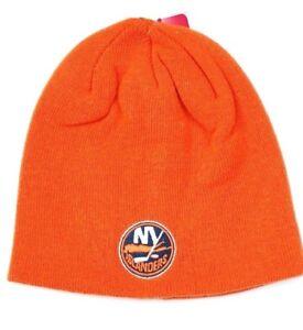 New York Islanders Reebok NHL Team Logo Knit Hockey Winter Hat ... af5e0f1f0c1