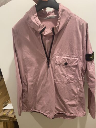 stone island smock over shirt Pink Jacket